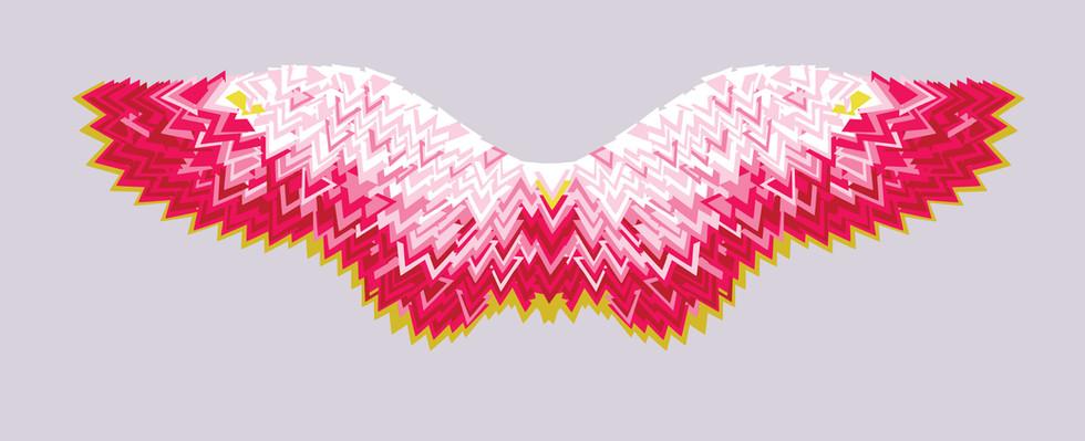 Giclee Print | Triangle Wings