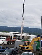 Drilling rig mainttenance at our facility