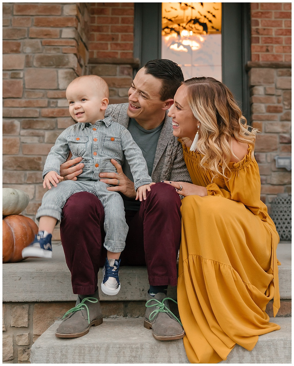 Family photo with toddler in Pittsburgh, Pa by LeeAnn K Photography.