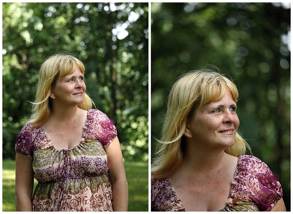 Portrait of Kim McMillan my mother. Photo taken by LeeAnn K Photography.