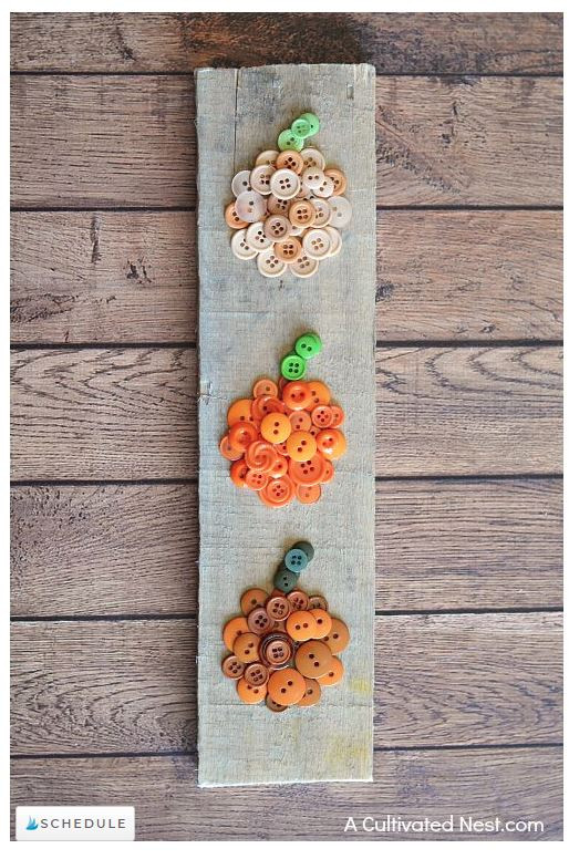 Ombre Pumpkin DIY created by A Cultivated Nest - featured on LeeAnn K Photography Blog