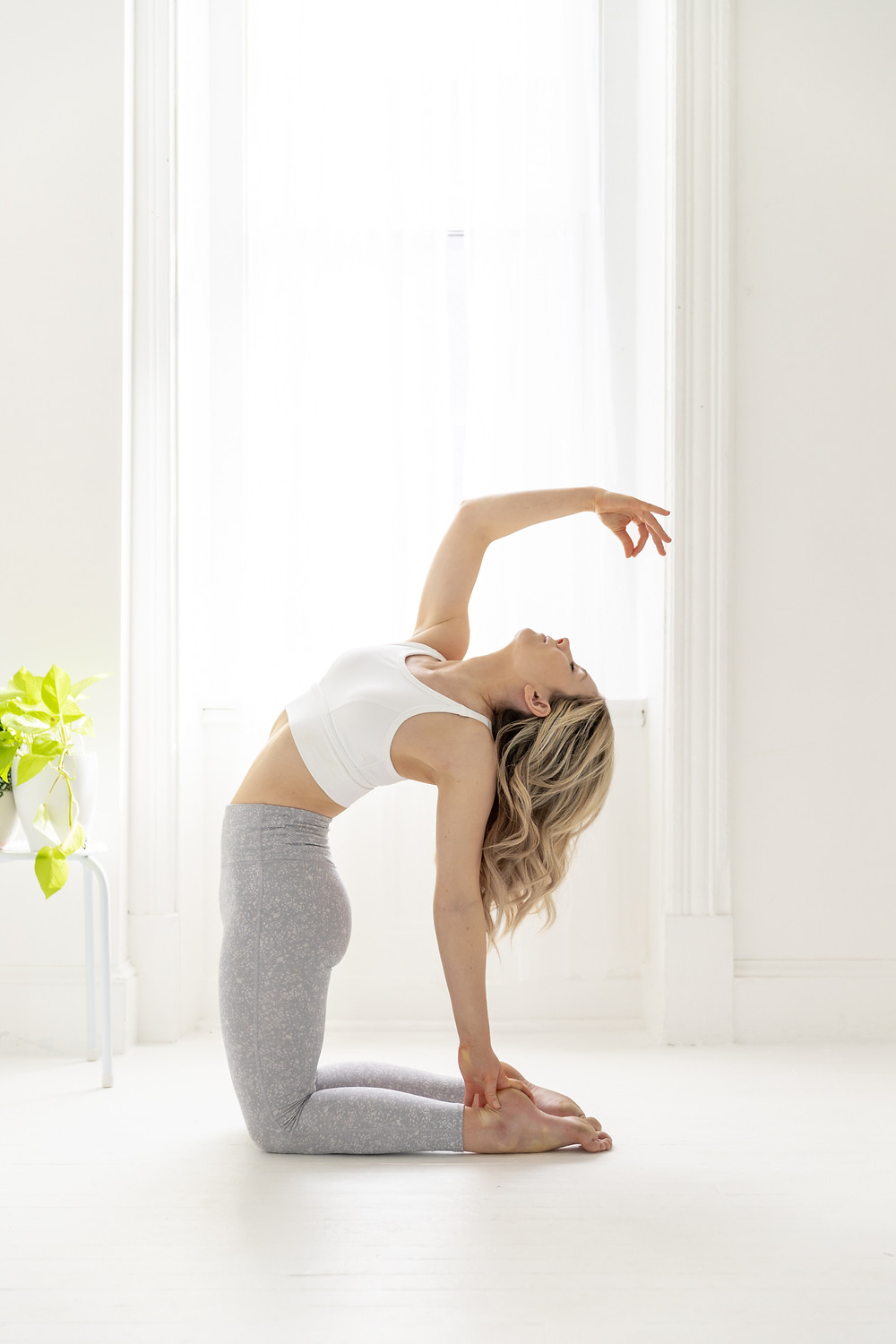 Yoga pose, personal branding, personal brand photography by LeeAnn K Photography
