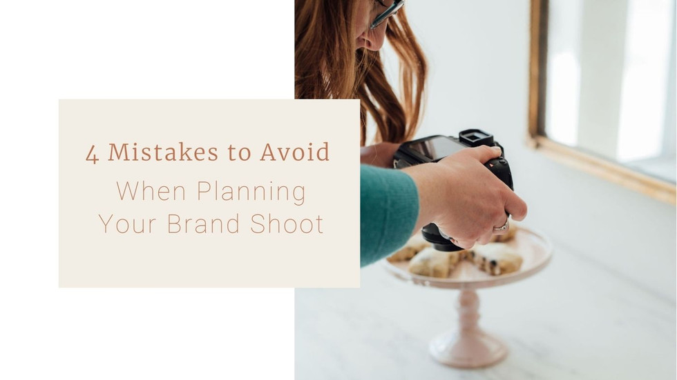 4 Mistakes to Avoid When Planning Your Personal Brand Shoot