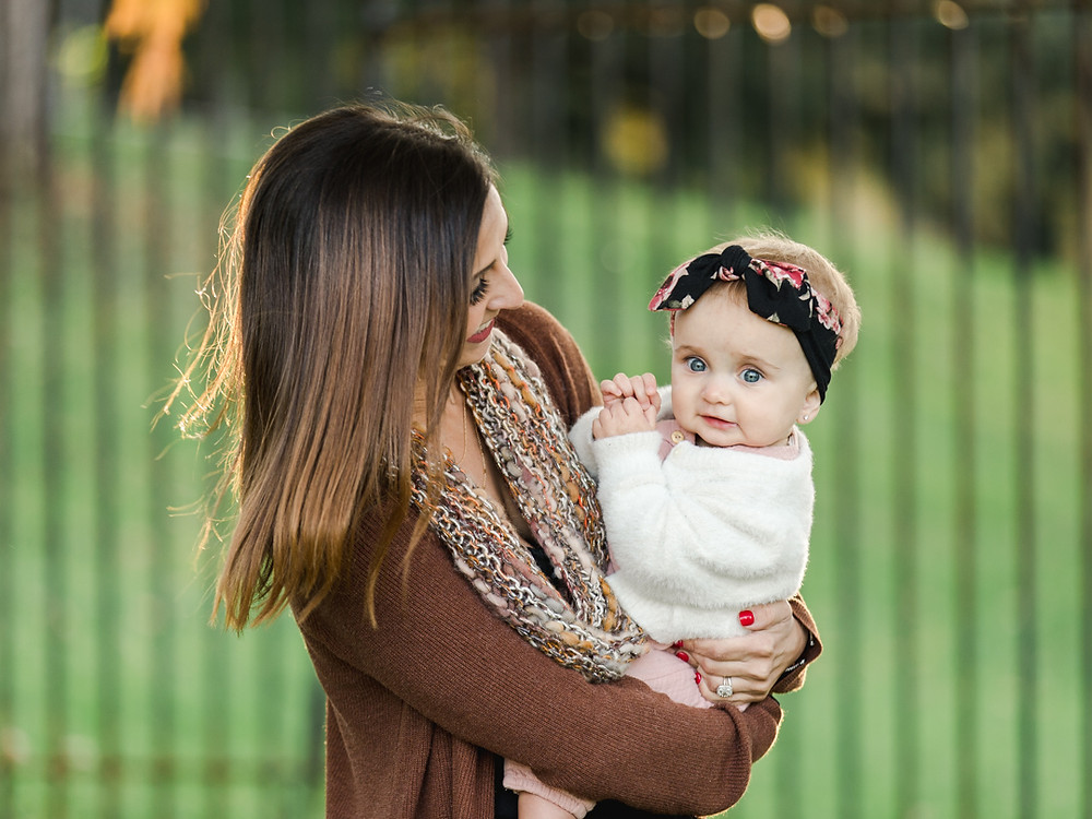 Mother and daughter portrait at Mellon Park by Pittsburgh Family Photographer LeeAnn Stromyer