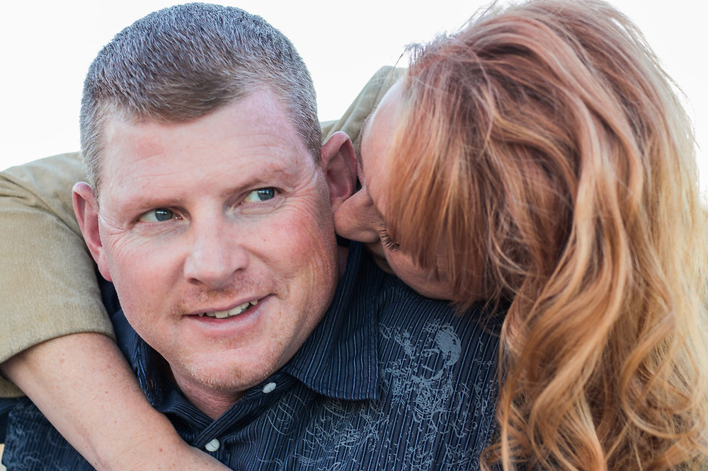 Outdoor  portrait of a husband and wife by LeeAnn K Photography, Pittsburgh Pa & Phoenix Az