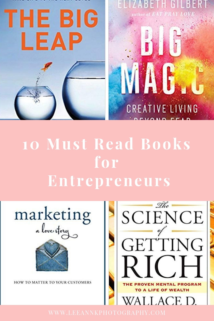 10 Must Read Books for Entrepreneurs, Books for Creative Business Owners, Pittsburgh Family Photography LeeAnn K Photography