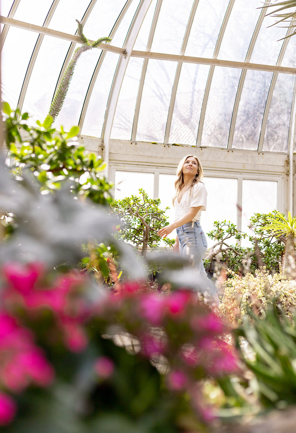 Personal brand portrait of a local blogger in Phipps by LeeAnn K Photography