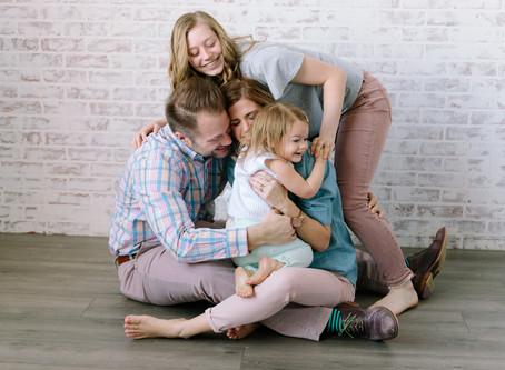Kiley & Family Studio Mini Sessions | Pittsburgh, PA
