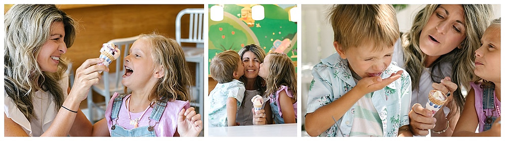 Mini- Session, Ice Cream Date, Family Portraits in Pittsburgh, PA LeeAnn K Photography