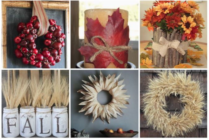 Fall decor ideas- prudent penny pincher - featured on LeeAnn K Photography