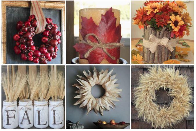Easy DIY Fall Decor Crafts & Ideas