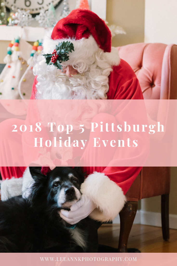 Pittsburgh Family Photographer- Top 5 Pittsburgh Holiday Events you don't want to miss this holiday season.