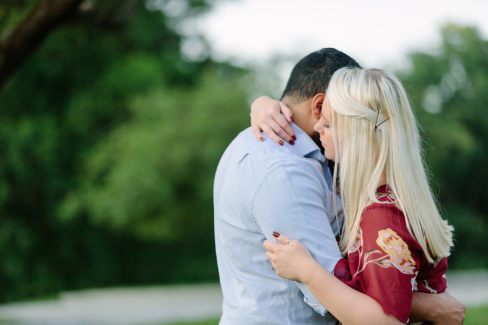 Hartwood Acres engagement session, portrait of couple by LeeAnn K Photography.