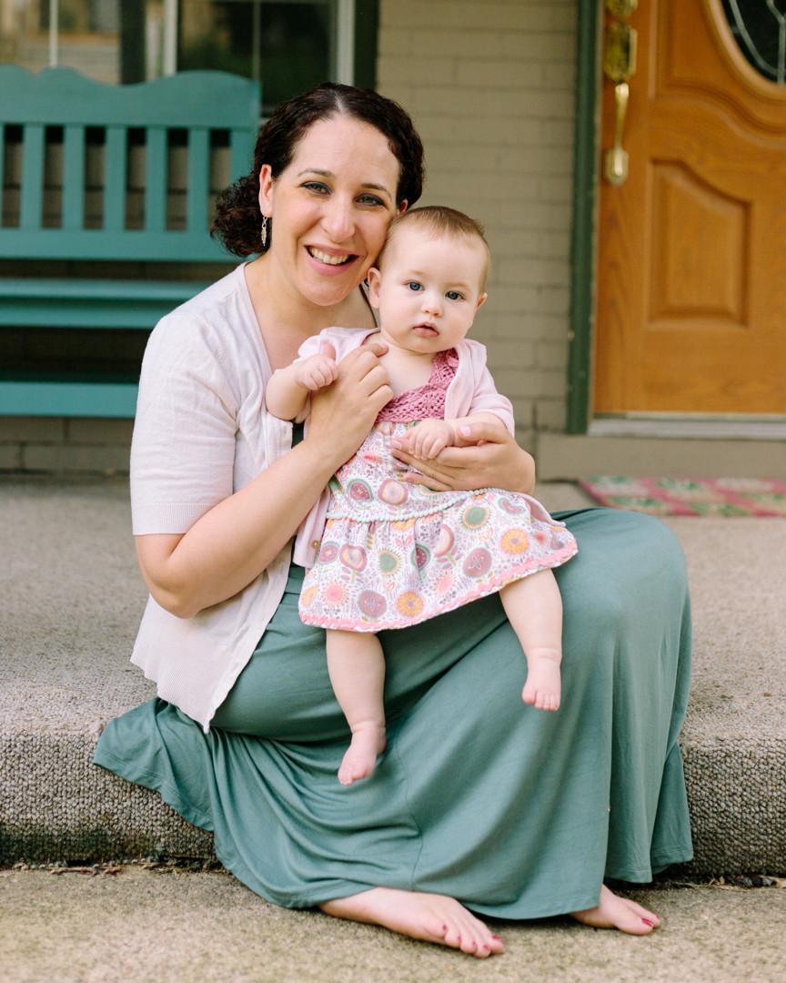 Single mom by choice portrait LeeAnn K Photography