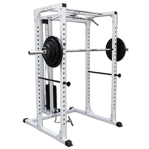 Squat Rack w/ Stack Loaded Lat DF820LS