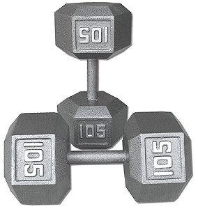 105 lb Dumbbell Pair