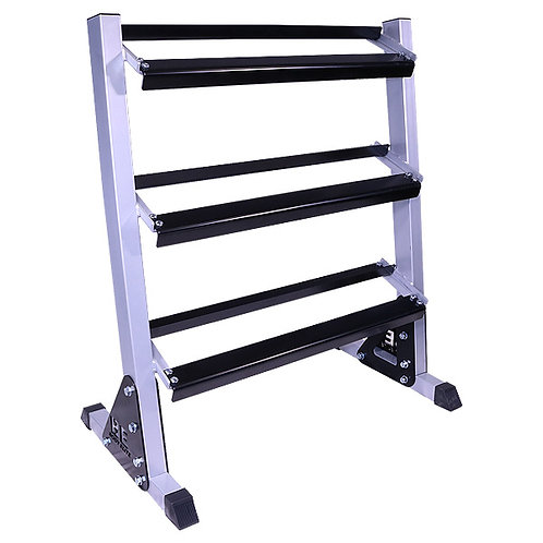 "Body Elite 38"" Three Tier Dumbbell Rack"