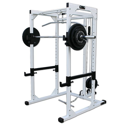 Pro Power Rack with Lat Attachment DF4500L