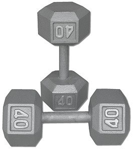 40 lb Dumbbell Pair