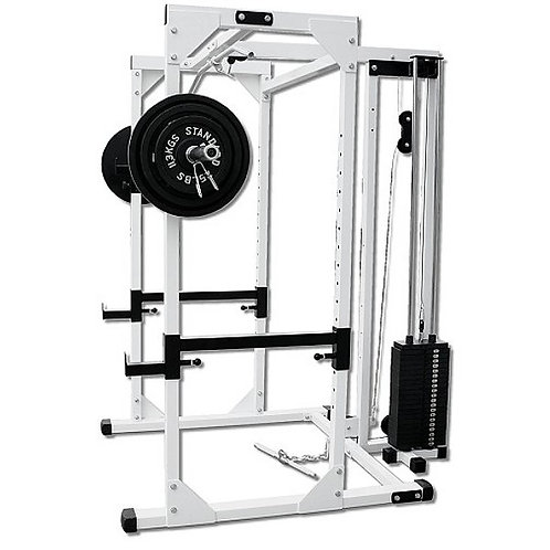 Pro Power Rack w/ Stack Loaded Lat  DF4500LS
