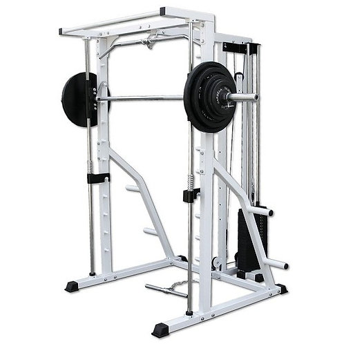 Linear Bearing Smith Machine with Weight Stack