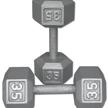 35 lb Dumbbell Pair