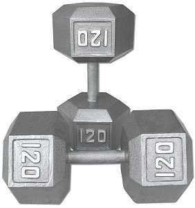 120 lb Dumbbell Pair