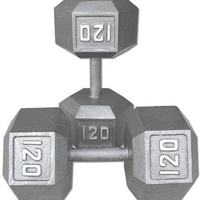 120 lb Dumbbell Pair