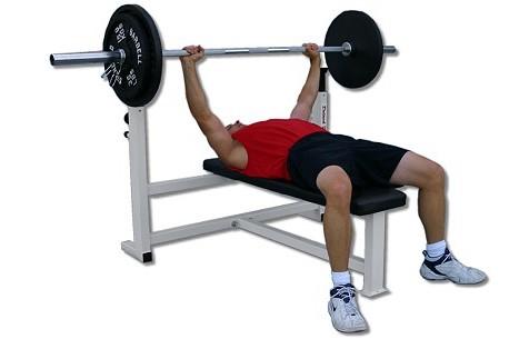 flat bench pressdeltech fitness df1700