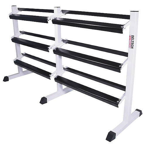 6 Foot Three Tier Hex Dumbbell Rack DF517