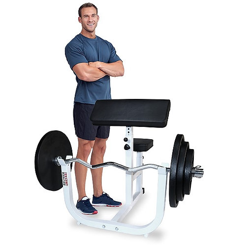 Preacher Curl Bench by Deltech Fitness