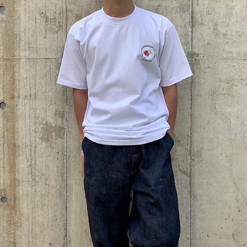 Kendai刺繍T「薔薇Single」