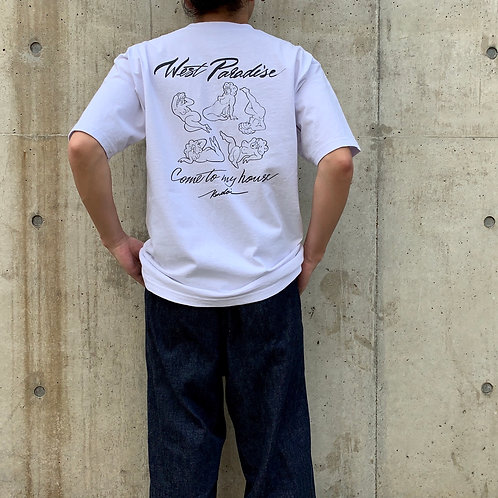 Kendai刺繍T「West Pradise」