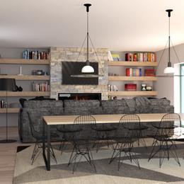 Progetto villa Calosso (AT)