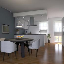 Progetto appartamento Montechiaro d'Asti (AT)