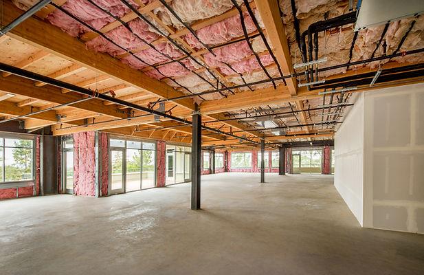 Insulation Installation in Room