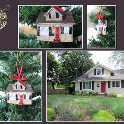 Personalized Home Replica Ornament