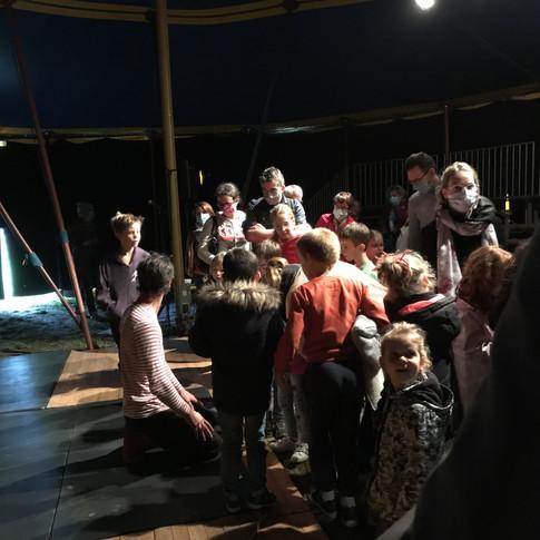 Projet école cirque