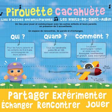 LAEP Pirouette Cacahuète