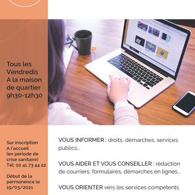 PERMANENCE AIDE AUX DEMARCHES ADMINISTRATIVES