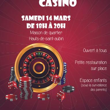 Soirée jeux Casino