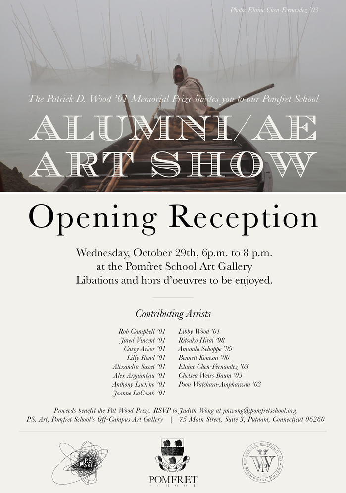 Join Us at the Upcoming Pomfret School Alumni/ae Art Show Reception!