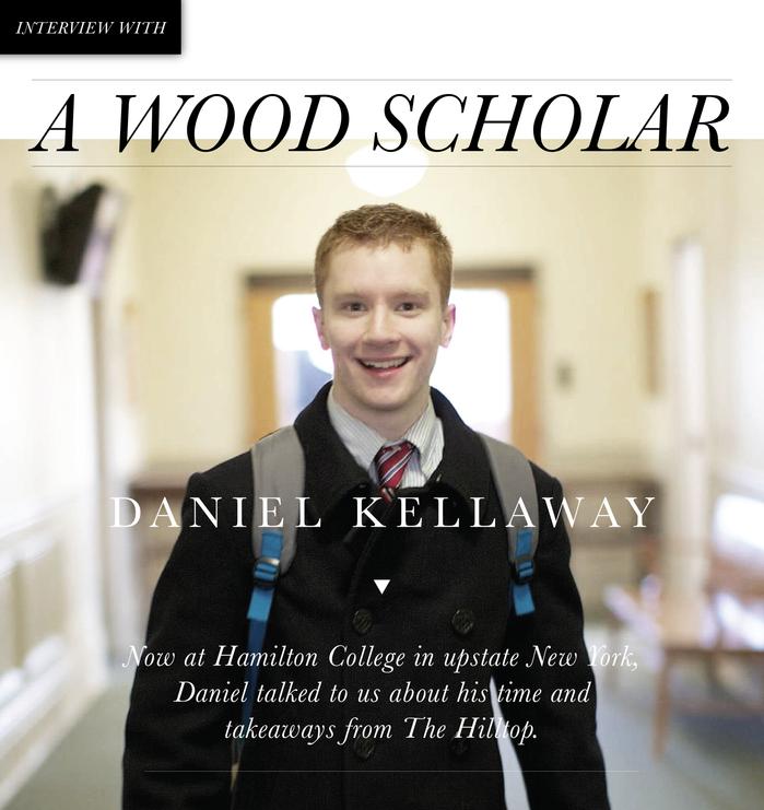 Wood Scholar Profile: Meet Daniel Kellaway '13