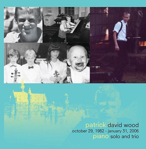 Patrick Wood: Piano Solo and Trio CD