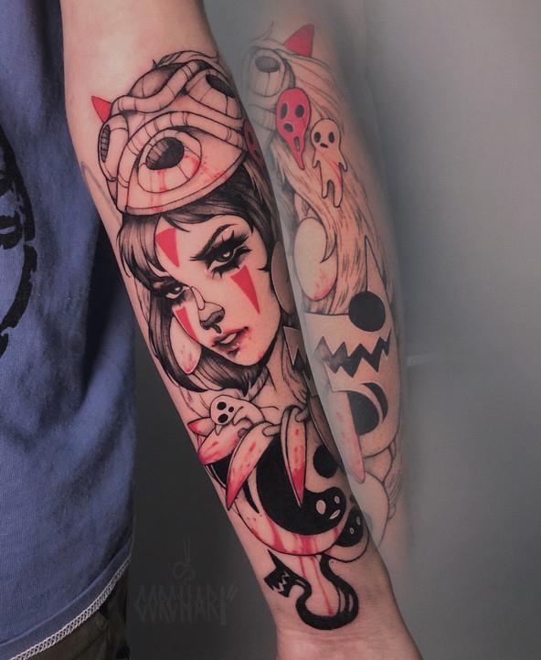 Tatuaje realizado por Gorcha en Valencia