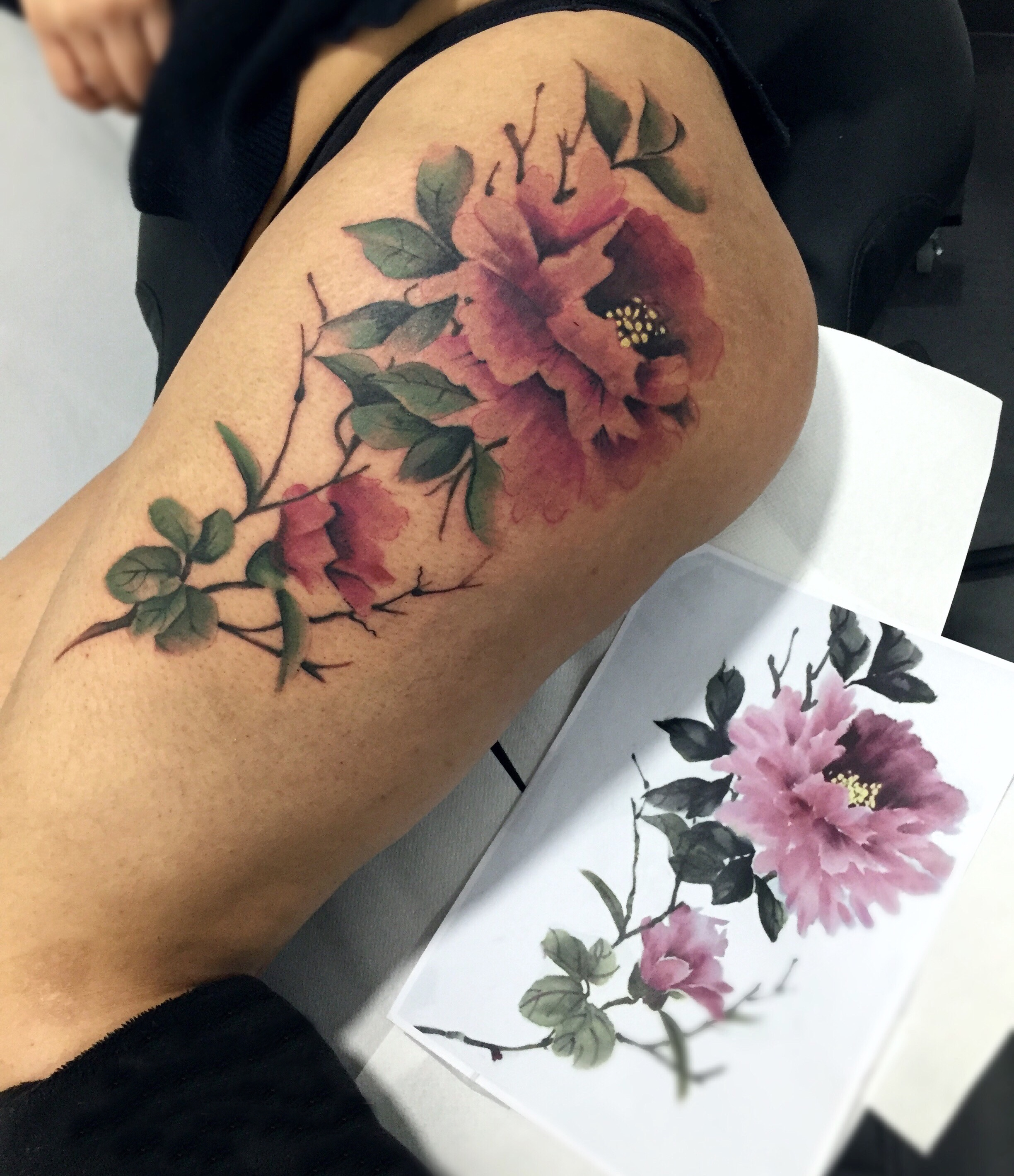 Tattoo by Sergio Exposito