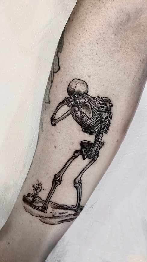 Tatuaje realizado por Nerea Abdon en Morning Glory Tattoo & Gallery Valencia