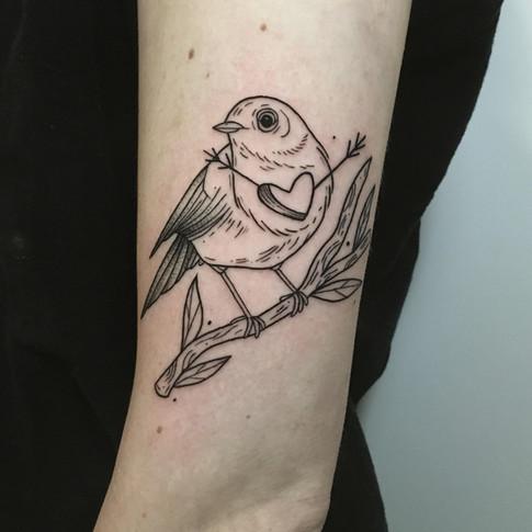 Tatuaje realizado por Vandehalo en Valencia