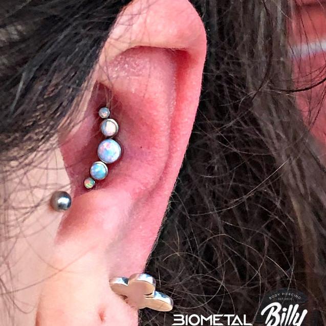 Conch piercing Valencia