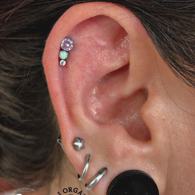 Helix piercing Valencia